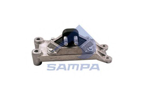 Подушка двигателя RVI 132x369x130 SAMPA 080069