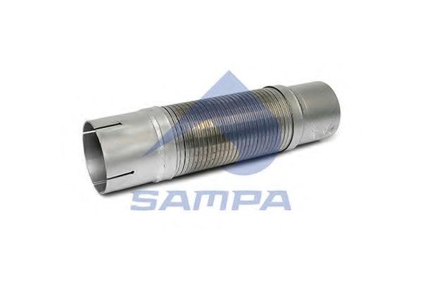 Трубы и гофры Гофра системи вихлопу SAMPA арт. 100051