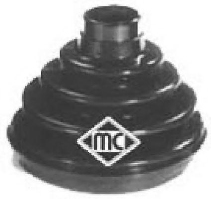 Пыльник ШРУСа наружн (00217) Metalcaucho  арт. 00217