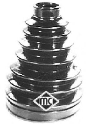Пыльник ШРУСа наружн (00225) Metalcaucho  арт. 00225