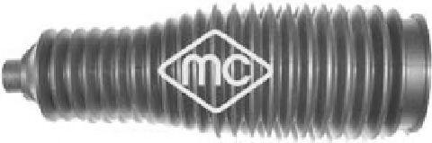 Пыльник рулевой рейки Ducato/Boxer/Jumper 06> (к-кт с хомутами) METALCAUCHO 01215