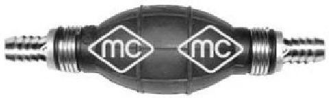 Топливный насос Насос підкачки топлива (груша)(прямий) 10mm METALCAUCHO арт. 02008