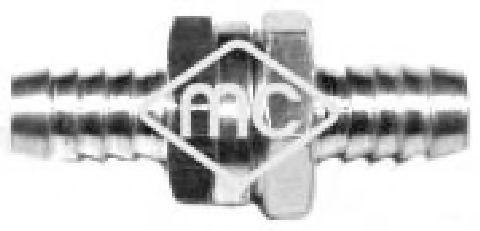 Топливный насос Клапан топливный (обратный) 8mm METALCAUCHO арт. 02014