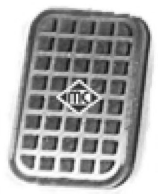Педаль сцепления Накладка педали сцепления (02773) Metalcaucho METALCAUCHO арт. 02773