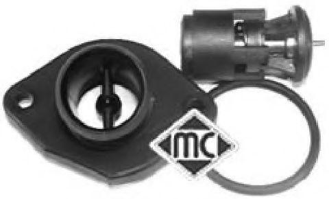 К-кт термостат в корпусі + прокладка VW Polo 1.0, Lupo 1.6 GTI 00-  METALCAUCHO 03592