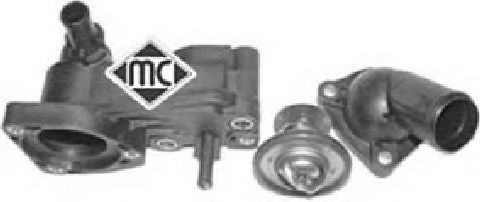 Корпус термостата + термост Ford Connect 1.8TDDI 02- METALCAUCHO 03713