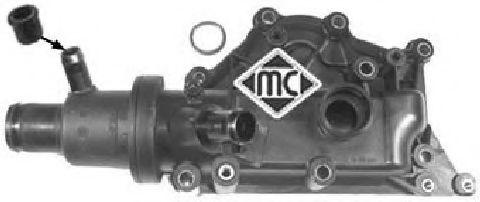 Термостат з корпусом Renault Kangoo/Megane II 1.6 16V 03- METALCAUCHO 03773