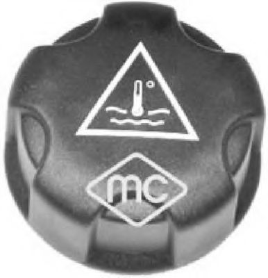 Крышка бачка расширительного (03881) Metalcaucho  арт. 03881