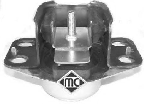 Подушка двигателя Kangoo/Clio 1.9D/1.2-1.6i Пр. METALCAUCHO 04028