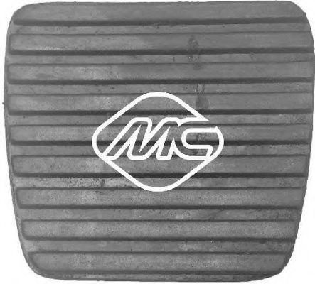 Педаль сцепления Накладка педали сцепления (04069) Metalcaucho METALCAUCHO арт. 04069