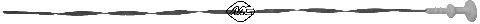 Масляный щуп Щуп уровня масла  Berlingo/Jumpy 1.9D (1905cm3)(L-525мм) METALCAUCHO арт. 04612