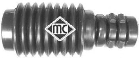 Пильовик+відбійник ам-тора перед. Renault Megane III 08/Scenic 1.5 dCi 09- METALCAUCHO 04682