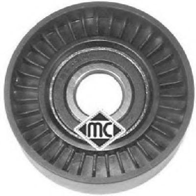 Ролик ремня генератора Ролик с натяжительным узлом ручейкового ремня Audi,Skoda,Seat,VW 1.9TDI METALCAUCHO арт. 04922