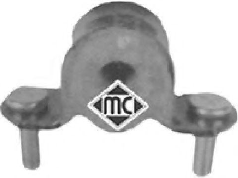 Подушка стабилизатора перед. Doblo 01- (наруж.) (кроншт.с болтами)  арт. 04981