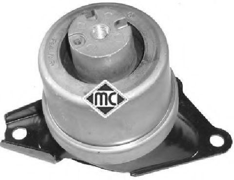 Опора двигуна перед. права гідро- VW T5 2.0TDI, 2.5 TDI 03- METALCAUCHO 05443