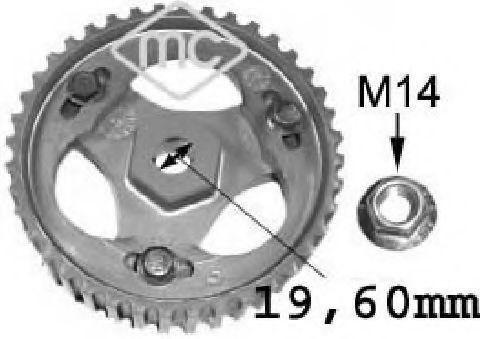 Насос высокого давления Шестерня ТНВД (05644) Metalcaucho METALCAUCHO арт. 05644