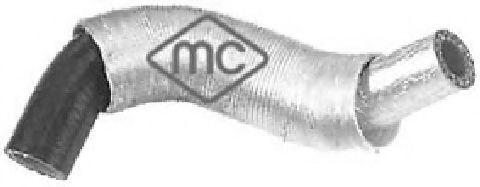 Масляный радиатор Патрубок интеркулера Fiat Scudo 07- 2.0HDI METALCAUCHO арт. 09535