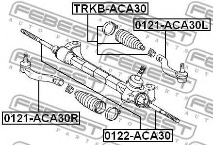 Рулевая тяга FEBEST 0122ACA30