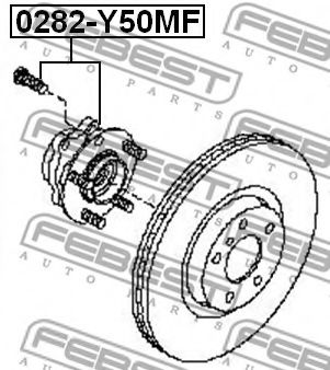 Маточина колеса  арт. 0282Y50MF