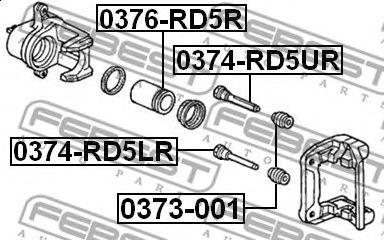 Ремкомплект супорта (направляюча 8708309998)  арт. 0374RD5LR