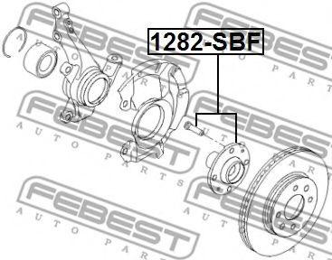 Маточина колеса  арт. 1282SBF