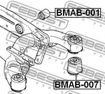 САЙЛЕНБЛОК ЗАДНЕЙ БАЛКИ BMW X5 E53 1999-2006  арт. BMAB001