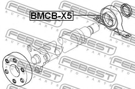 ПОДШИПНИК ПОДВЕСНОЙ КАРДАННОГО ВАЛА BMW X5 E53 1999-2006  арт. BMCBX5