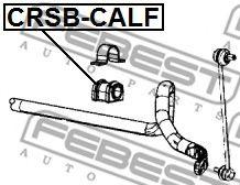 Втулка стабилизатора переднего (Пр-во FEBEST)                                                         арт. CRSBCALF