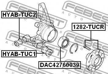 Подшипник ступицы колеса передний HYUNDAI TUCSON 2004-2010  арт. DAC42760039