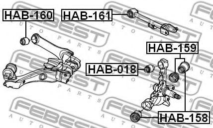 Сайлентблок  арт. HAB161