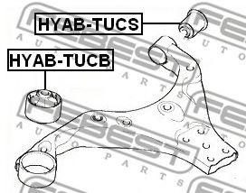 Сайлентблок передний переднего рычага  арт. HYABTUCB
