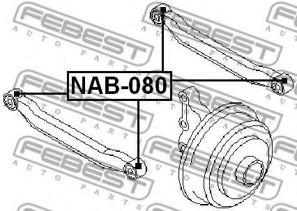 Сайлентблок  арт. NAB080