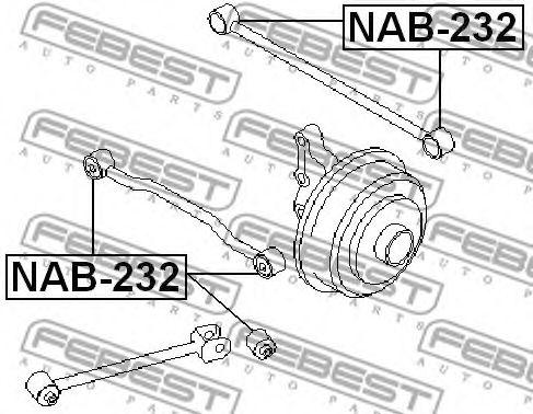 Сайлентблок  арт. NAB232