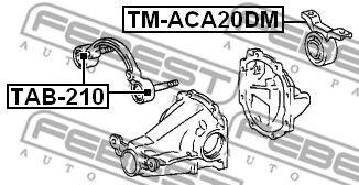 Подушка двигателя TOYOTA RAV4  (пр-во FEBEST)                                                        FEBEST TMACA20DM