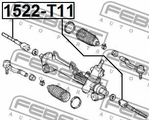Рулевая тяга FEBEST 1522T11