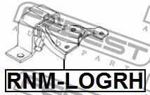 Подушка двигателя RENAULT LOGAN 2005-2013 (пр-во FEBEST)                                             FEBEST RNMLOGRH