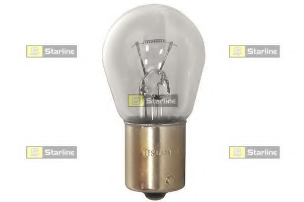 Автомобильная лампа: 12 [В] P21W 12V цоколь BA15s белая  арт. 9999995
