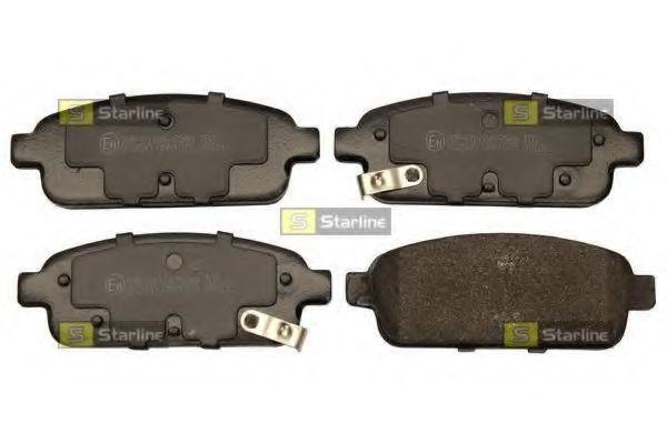 Колодки тормозные дисковые, к-кт.  арт. BDS773