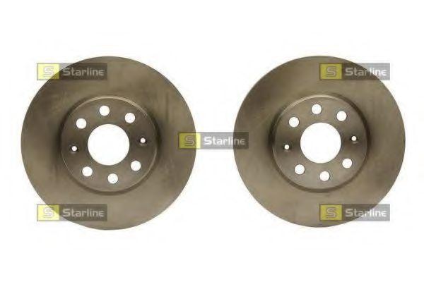 Тормозной диск STARLINE арт. PB20425