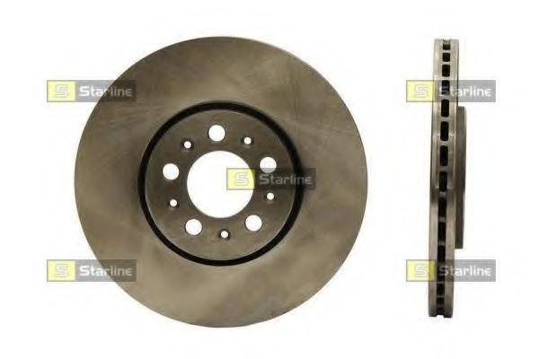 Диск тормозной STARLINE PB2480