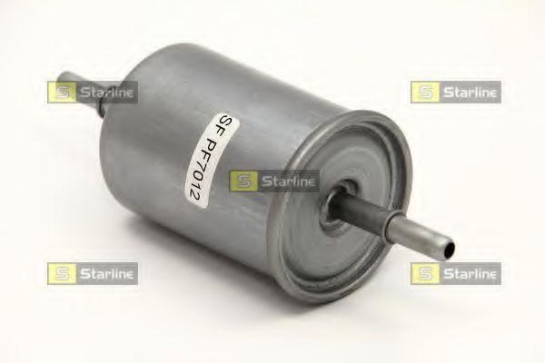 Топливный фильтр (с клипсами)  арт. SFPF7012