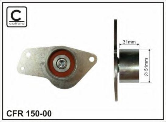 Фото - Устройство для натяжения ремня, ремень ГРМ CAFFARO - 15000