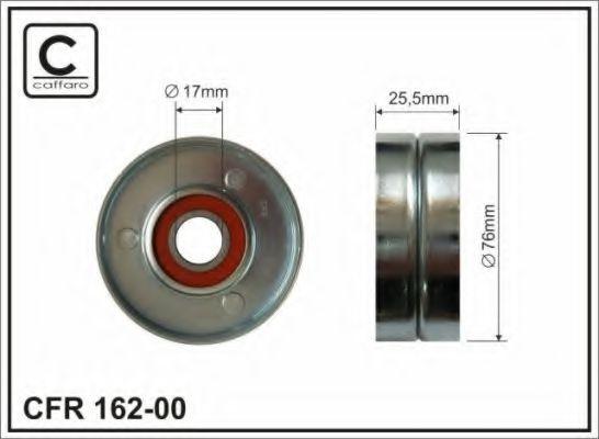 Фото - Паразитный / ведущий ролик, поликлиновой ремень CAFFARO - 16200