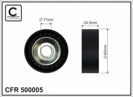 Натяжной ролик, поликлиновой  ремень CAFFARO арт. 500005