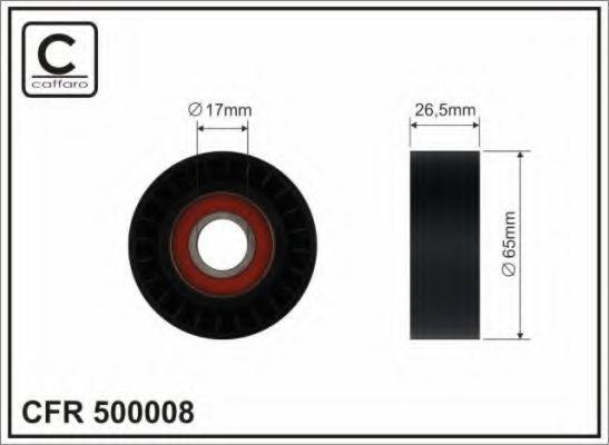 Натяжитель ремня генератора CAFFARO арт. 500008