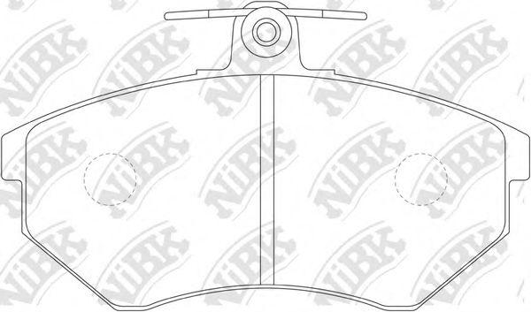 Колодки гальмівні дискові  арт. PN0018