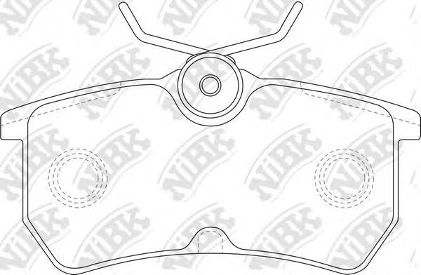 Колодки гальмівні дискові  арт. PN0120