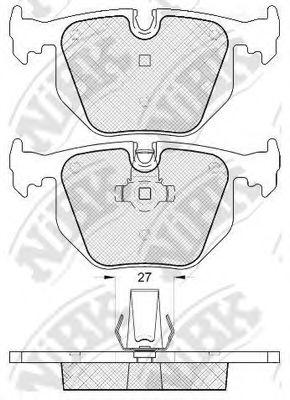 Колодки гальмівні дискові  арт. PN0225
