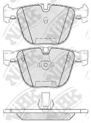 Колодки гальмівні дискові  арт. PN0326