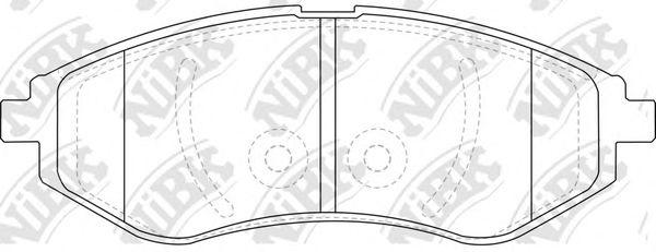 Колодки гальмівні дискові  арт. PN0370